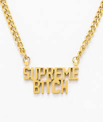 nameplate necklace married to the mob supreme nameplate necklace zumiez