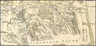 Ord Map Maps Perquimans County Ncgenweb