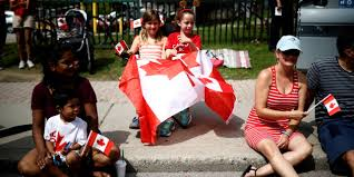 what did canadians celebrate on july 1st