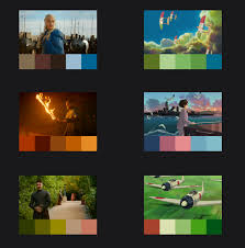 color combo generator the intelligent color palette generator inspired by film