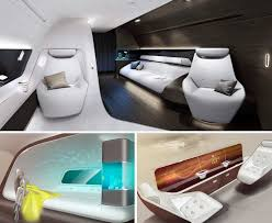 Private Jet Floor Plans Mercedes Benz Lends Its Luxury Concepts To The Interior Design Of