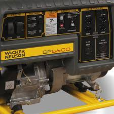 multiquip ga6hrs honda gx340 generator 6 000w contractors direct