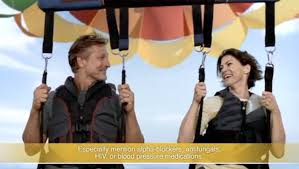 cialis commercial what is the parasailing couple thinking