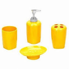 Bright Yellow Bathroom by An Overview Of Yellow Bathroom Accessories Bath Decors