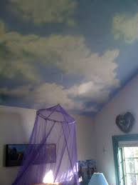 blue ceiling white clouds mommy dreams pinterest blue