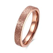 4mm ring aliexpress buy 4mm titanium steel rings for women men