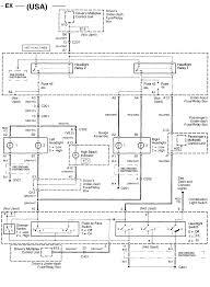 1994 honda civic headlamp wiring 1994 wiring diagrams