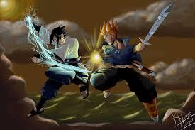 sasuke vs sasuke vs trunks by kimbo henry on deviantart
