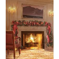 christmas photo backdrops christmas fireplace printed backdrop backdrop express