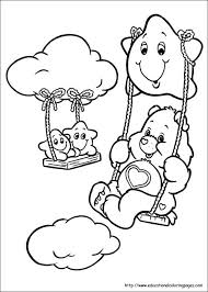 coloring excellent care bears coloring bears01 care