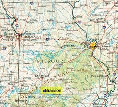 Where Is Table Rock Lake Maps Branson Mo