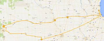 Map Of Midwestern States by Giants U0026 Pilgrims Midwest Road Adventures And U201cmaps U201d U2013 A Round