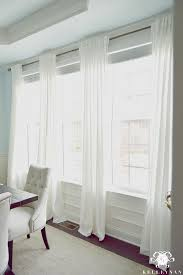 How To Hang Pottery Barn Curtains Best 25 Panel Curtains Ideas On Pinterest Living Room With