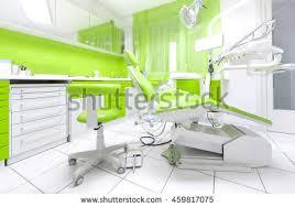 Interior Dental Clinic Dental Clinic Interior Modern Blue Dentistry Stock Photo 456472996