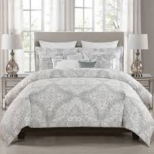 Marshalls Comforter Sets Amazon Com Envogue Queen Full Comforter Set Grey Paisley 5