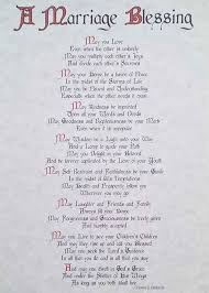 wedding blessing marriage blessings poems