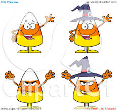 halloween graphics free clip art clipart of cartoon halloween candy corn characters royalty free