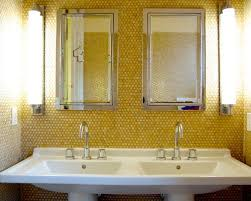 yellow tile bathroom ideas transitional yellow tile bathroom ideas designs remodel photos