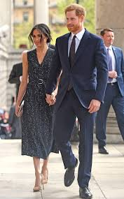 prince harry meghan prince harry steps out with meghan markle after the birth of his