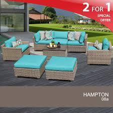 8 piece furniture set wicker deck furniture design furnishings
