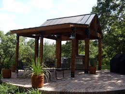 patio with metal roof tin roof outdoor kitchen design outdoor
