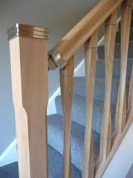 Oak Stair Banister Oak Ash Hemlock Pine Contemporary Raymond Twist Stair Spindles