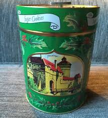 lambertz musical we wish you a merry christmas cookie tin germany