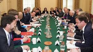 Central Cabinet Ministers Eu Vote Where The Cabinet And Other Mps Stand Bbc News