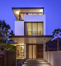 sunny side house wallflower architecture design smooth