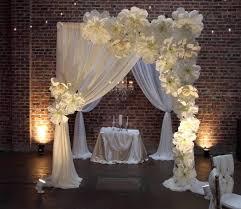wedding entrance backdrop paper flower wedding pinteres