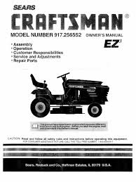 download craftsman tractor 917 254850 manual docshare tips
