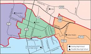 killeen map killeen high likely to be funded with bond election