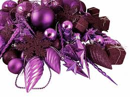 christmas staggering purple christmas decorations picture