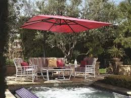 10 Foot Patio Umbrella Aluminum Outdoor Umbrellas Luxedecor