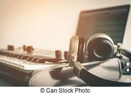 bureau studio musique fonctionnement bureau studio musique casque mensonge images de