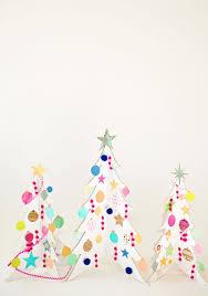 cardboard christmas tree hello wonderful colorful cardboard christmas trees and diy