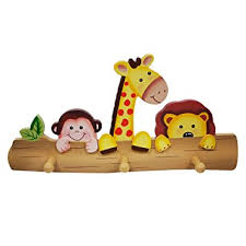 wooden animal wall fields safari animals themed wooden wall