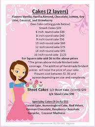 28 cake price list template index of wp content uploads