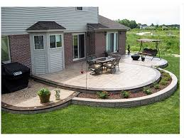Concrete Ideas For Backyard 36 Best Stamped Colored Concrete Images On Pinterest Colored