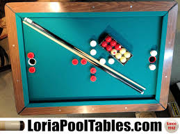 sold pre owned bumper pool table loria awards