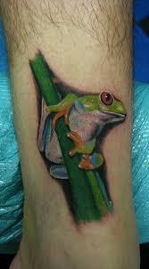 eyed tree frog by daniel chashoudian tattoonow