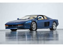 1989 testarossa for sale 1989 testarossa for sale classiccars com cc 1041495