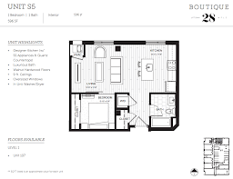 studio floor plans boutique 28