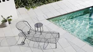 outdoor furniture design trent jansen designs tait s tidal sunlounger to suit australian summers