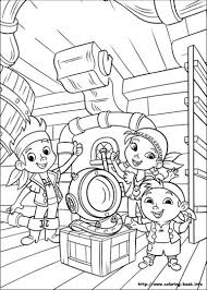 jake neverland pirates coloring pages 1