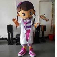 Doc Mcstuffins Costume Aliexpress Com Buy Ohlees Girls Doctor Dottie Mcstuffins Doc