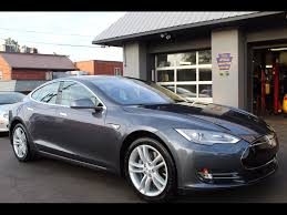Tesla Minivan Used Tesla Model S For Sale In Columbus Oh 294 Cars From 34 500