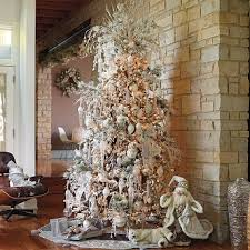 tree decorating ideas white and silver