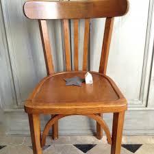 chaise bistrot chaise bistrot ancienne de style baumann en bois clair