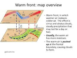frontal boundary map air masses and fronts 1 an air mass is a wide spread section of